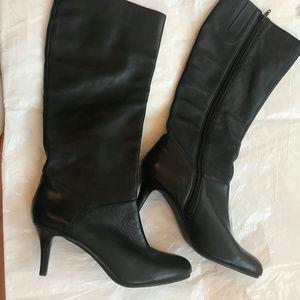 Nine West Shoes - Nine West Tall Black Boots Zip Up 10